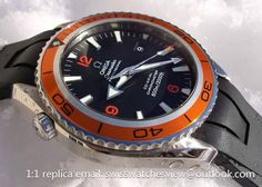 Omega Seamaster Planet Ocean rubber orange bezel 2908.50.91 Omega Seamaster Planet Ocean rubber orange bezel 2908.50.91 [2908.50.91] - $297.00