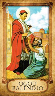 Prayer Card - Ogou Balendjo