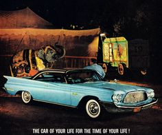 1960 Chrysler New Yorker Hardtop Vintage Advertisements, Vintage Ads, Weird Toys, Chrysler New Yorker, Chrysler Cars, American Classic Cars, Jeep Dodge, Car Advertising, Us Cars