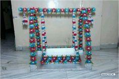 ganpati decoration makhar - Google Search