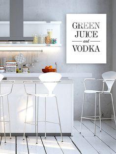 Green Juice & Vodka by Bohemian Riot (Plexiglass)