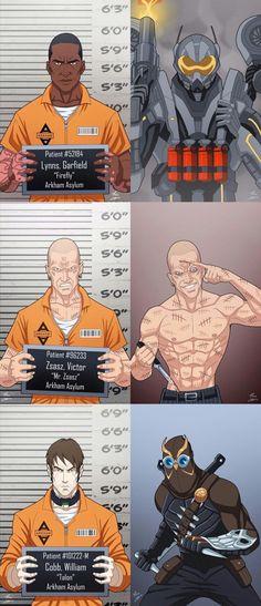 Suicide Squad for DC comics ★ ★ ★ - Visit to grab an amazing super hero shirt now on Comics Anime, Comic Manga, Bd Comics, Marvel Dc Comics, Comic Book Characters, Comic Character, Comic Books, Comic Art, Arkham Asylum