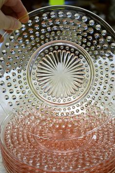 Love Pink Depression Glass! Depression Glass Candlewick