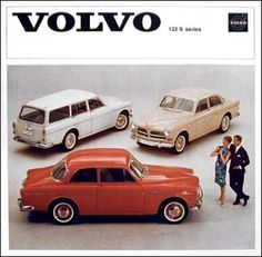 Volvo 122 Ad #vintage #poster #volvo