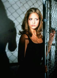 "Buffy The Vampire Slayer Sarah Michelle Gellar as ""Buffy Summers"" Sarah Michelle Gellar Buffy, Marc Blucas, Charisma Carpenter, Buffy Summers, Michelle Trachtenberg, David Boreanaz, Joss Whedon, Alyson Hannigan, Seinfeld"
