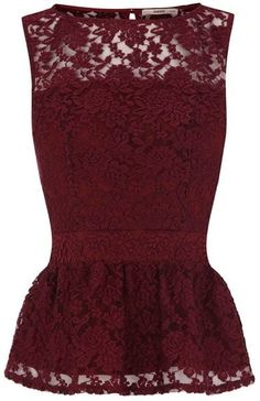 Lace Peplum Top, HAVE TO HAVE IT