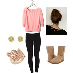 Anything with UGG boots I love <3