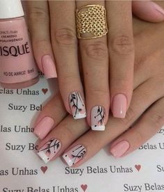trending Early Spring Nails Art Designs and Colors 2019 - Hairstyles Simple . - Nägel trending Early Spring Nails Art Designs and Colors 2019 - Hairstyles Simple . - Nägel - The Best Nail Art Designs Compilation. Best christmas nail tutorials page 32 Spring Nail Art, Nail Designs Spring, Spring Nails, Nail Art Designs, Nails Design, Simple Nail Designs, Fancy Nails, Trendy Nails, Cute Nails