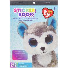Beanie Boos® Sticker Book Slush™ the Husky, 242 stickers