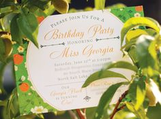 Sweet & Southern Georgia Peach Party // Hostess with the Mostess®  Pink umbrella   Girl baby shower