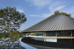 Galería de Salón Comunitario Cementerio Sayama Lakeside / Hiroshi Nakamura & NAP - 15