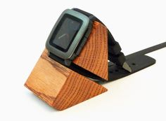 Wedge dock for Pebble Time