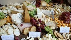 cheese display for wedding - Bing Images