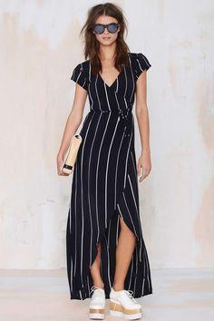 Nasty Gal Faithfull Lulu Wrap Dress, $138.00 | 17 Wrap Dresses That Will Make You Love Wrap Dresses