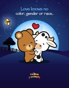 Farm Babies / #kawaii #cute #love #quotes #illustration #baby #farm #card #equality