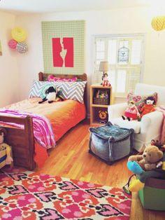 fabulous eclectic girls room