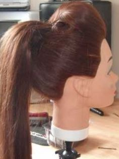 How to Do a Ponytail with a Bump | the sexy sleek ponytail - julie - Blog