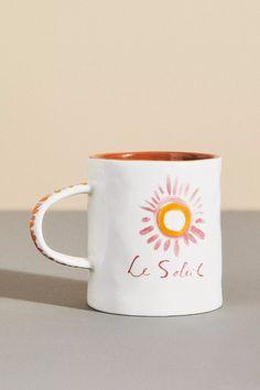 Hotel Magique for Anthropologie Melange Mug | Anthropologie Of Brand, Best Brand, Mug Cup, Paper Goods, Stoneware, Product Launch, Art Prints, Mugs, Cool Stuff