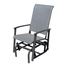 The glider gives strength and comfort without any compromises about maintenance. The aluminum frame assembly is easy, do not require any effort and much time. Many hours of smooth rocking to figure. Patio Glider, Glider Chair, Outdoor Chairs, Outdoor Furniture, Outdoor Decor, The Gables, Assemblage, Gliders, Contemporary