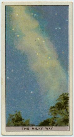 Milky Way vintage cigarette card Photo Wall Collage, Picture Wall, Collage Art, Room Posters, Poster Wall, Poster Prints, Aesthetic Iphone Wallpaper, Aesthetic Wallpapers, Posca Art