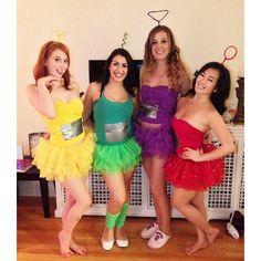 Diy disney costumes diy disney characters halloween pinte do it yourself teletubbies halloween costume solutioingenieria Images