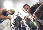 THE WALKING DEAD AUTOGRAPHED SIGNED PHOTO LINCOLN REEDUS COHAN YEUN RARE!! COA