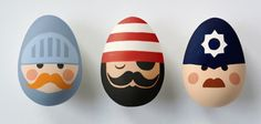 Huevos de Pascua pintados de tu personaje favorito