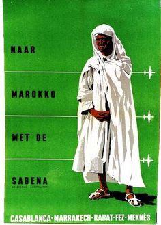 Naar Marokko met de Sabena