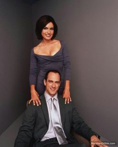 Mariska and Christopher