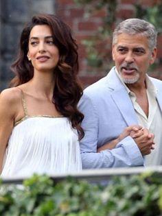 Savršena flapper dama: Amal Clooney u prelepoj vintage beloj haljini na rese