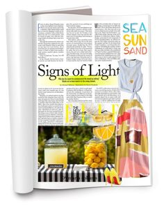 """""""yellow"""" by mariacollares ❤ liked on Polyvore"""