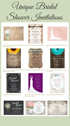Modern and Whimsical Bridal Shower Invitations with beautiful designs and custom photos. Design your own bridal shower invitations with these templates. Wedding Invitations Online, Country Wedding Invitations, Wedding Invitation Templates, Custom Invitations, Bridal Shower Invitations, Country Wedding Cakes, Country Style, Wedding Details, Rustic