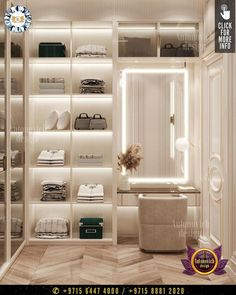 Advantages of the dressing room is a lot. Firstly, this is the order, if everything is placed correctly, then it is known that it is easier to find the right things, especially when there is absolutely no time. #luxurydesign #luxury #luxurylifestyle #luxuryhomes #luxuryfurniture #luxurylife #luxurywardrobe #wardrobe #wardrobeideas #wardrobedoors #wardrobeorganization #dressingroomideas #furniture #furnituredesigns #dressingroomdesign Dressing Room Decor, Dressing Room Design, Interior Design Companies, Luxury Interior Design, Luxury Furniture, Furniture Design, Luxury Wardrobe, Wardrobe Organisation, Wardrobe Doors