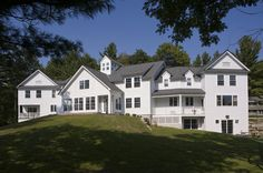 Proctor Academy Secondary Schools, Mansions, House Styles, Places, Home Decor, Decoration Home, Manor Houses, Room Decor, Villas