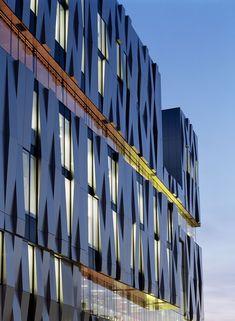 Uppsala Concert & Congress Hall in Sweden. Designed by Henning Larsen Architects.