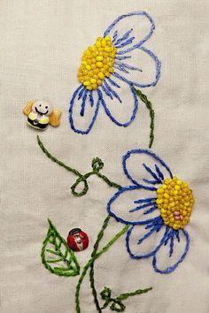 Mais ideias para novos bordados :) Boas Costuras! Fonte:Pinterest