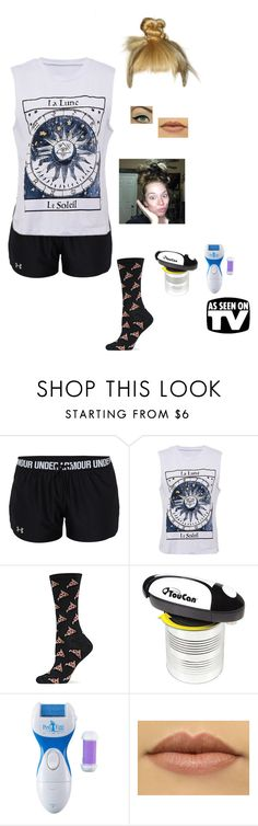 """""""does this thing really work with Grav3yardgirl"""" by nickpick ❤ liked on Polyvore featuring Under Armour, HOT SOX and Impulse"""