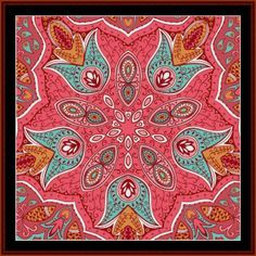 FR-509 - Fractal 509 - All cross stitch patterns - NEW - Abstract - Fractals - Graphic Art - Whimsical - Cross Stitch Collectibles