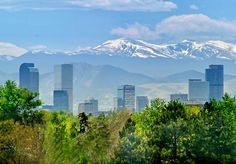 Denver, CO - one of my absolute favorite cities. Wonderful people, beautiful city... love it!