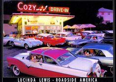 760 - ROADSIDE - America and ROUTE 66 - Cozy Drive-In - NJ. - Lu