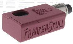 FrankenSkull Styled Mechanical Mod Kit built-in tank 1*18650 Frankenskull Squonk #Frankenskull