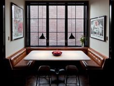 Soho breakfast nook, Own entity. | Remodelista Architect / Designer Directory    Want. Wuh wuh wuh want.