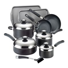 Circulon Total Hard Anodized Nonstick 13-Piece Cookware Set >>> Find out more about the great product at the image link.