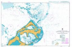 British Admiralty Nautical Chart 868: Eastern and Western Approaches to The Narrows including Murray's Anchorage