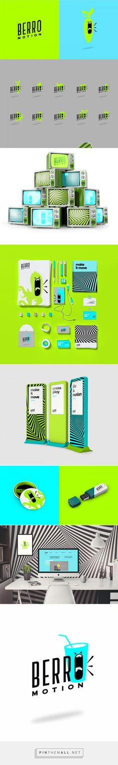 Berro Motion Animation Design Studio Branding by Anatomia Design Studio..