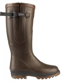 Aigle Parcours Iso Wellington Boots Brown -