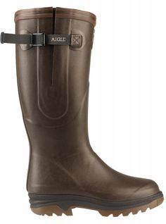 Aigle Parcours Iso Wellington Boots Brown -