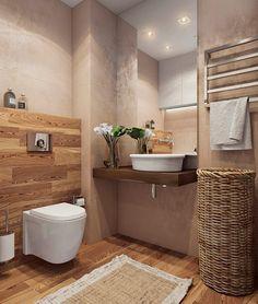 Salle de bain de style de style Minimaliste par Angelina Alekseeva