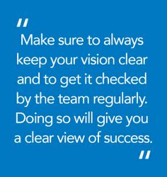 How #CFOs Can Achieve a Vision of Success
