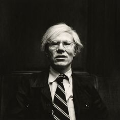 Andy Warhol, 1975.-Wmag
